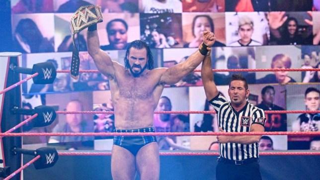 New WWE Champion Drew McIntyre