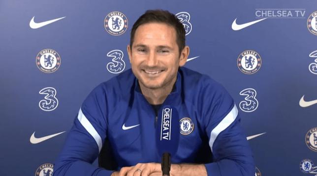 Frank Lampard reacts to Callum Hudson-Odoi's Chelsea title claim