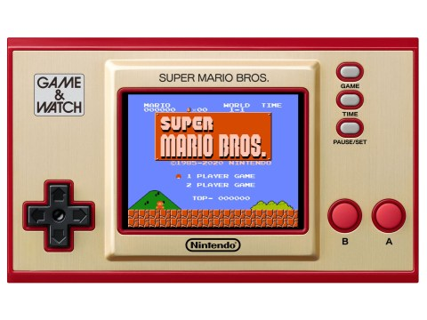 Game & Watch Super Mario Bros. review – older than old school