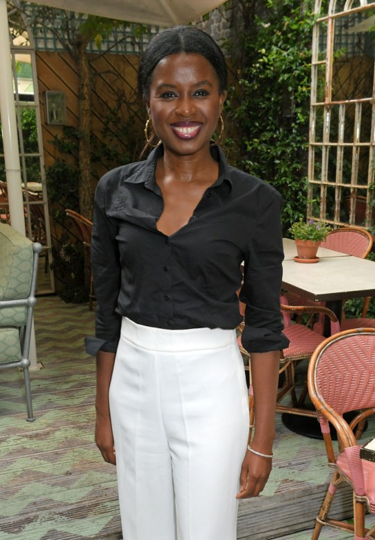June Sarpong at special dinner in aid of Afrikids