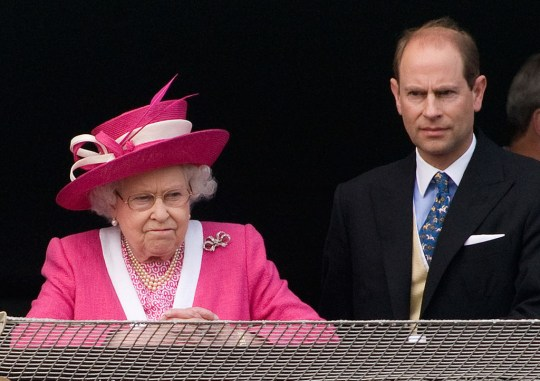 Prince Edward and The Queen