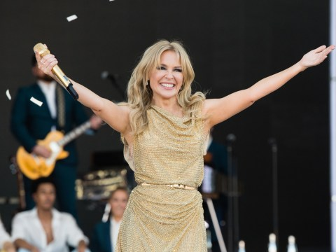Kylie Minogue says she'll 'never experience anything' like Glastonbury again after headlining in 2019