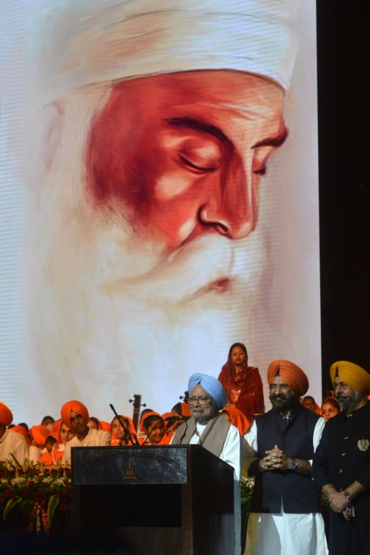 Célébrations du Guru Nanak à New Delhi