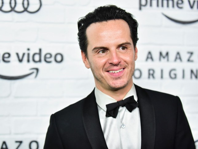 His Dark Materials actor Andrew Scott at the Amazon Prime Video Post Emmy Awards Party 2019
