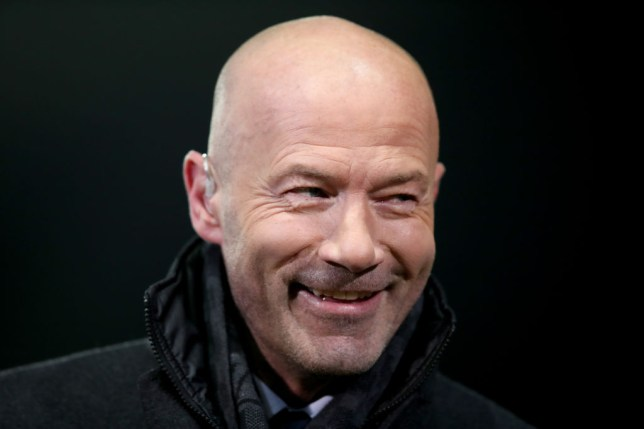 Former Newcastle United striker Alan Shearer during the FA Cup Fourth Round Replay match between Oxford United and Newcastle United at Kassam Stadium on February 4, 2020 in Oxford, England.