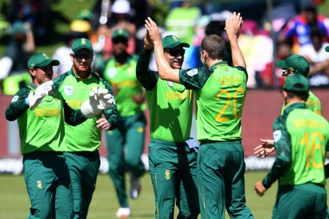 Three South Africa players are self-isolating after a positive coronavirus result
