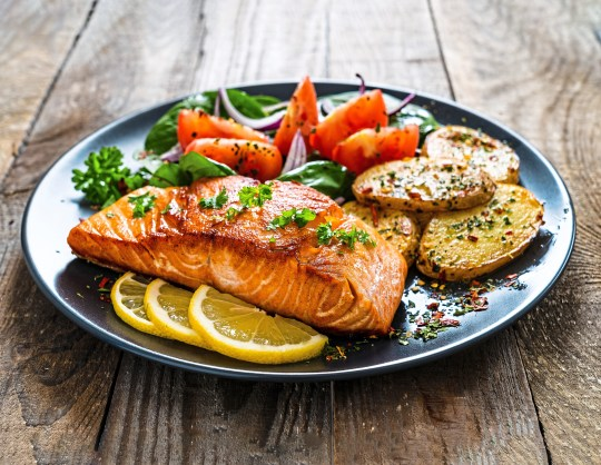 Salmon is a great source of vitamin D