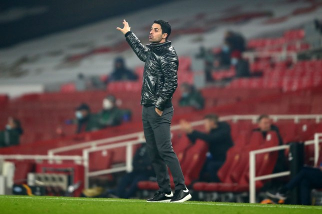 Arteta received praise from his opposite number