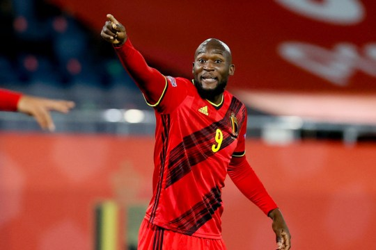 Belgium's Romelu Lukaku pictured during a Nations League soccer game between the Belgian national team Red Devils and England, the fifth game (out of six) in the League A, Group 2, Sunday 15 November 2020 in Leuven.