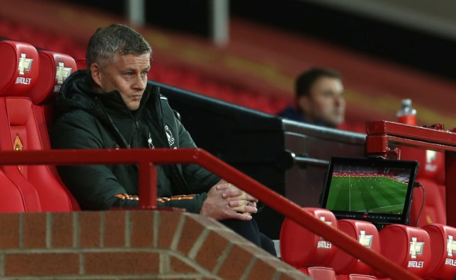 Ole Gunnar Solskjaer's Man Utd side have slipped to 15th place in the Premier League table