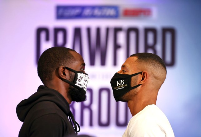 Terence Crawford v Kell Brook - Press Conference
