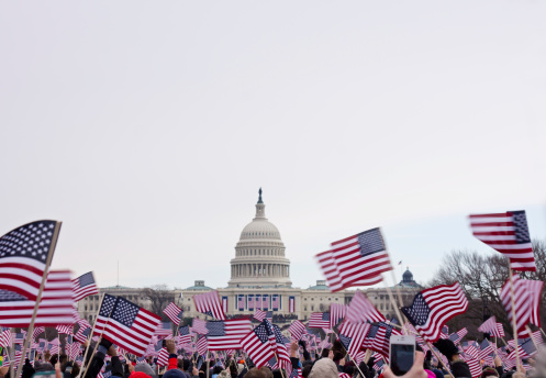 Presidential inauguration in Washington Mall, 2013
