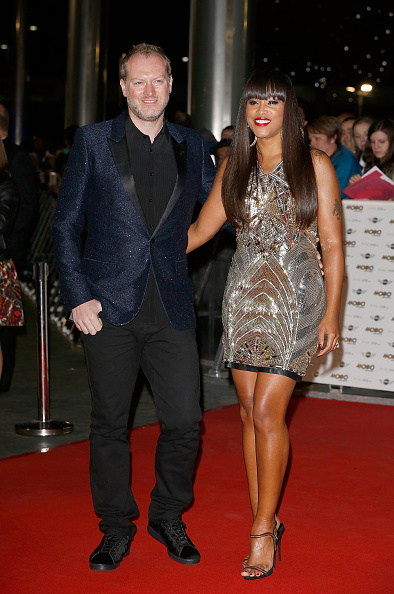 Eve and Maximillion Cooper on the red carpet