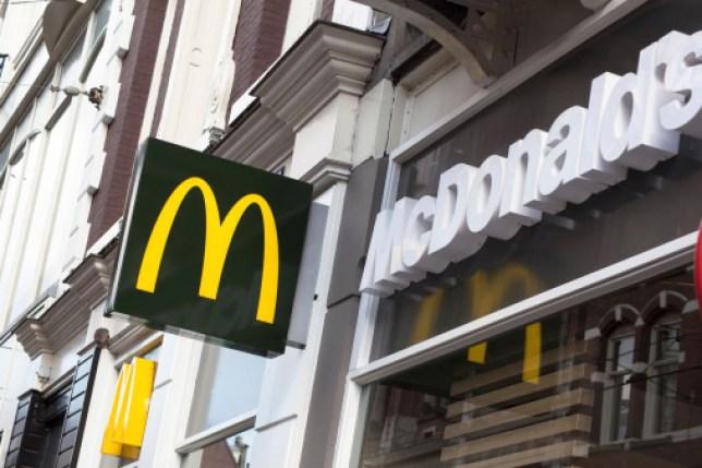 McDonald's restaurant logo