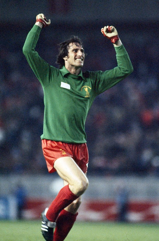 Ray Clemence won three European Cup trophies during his time at Liverpool