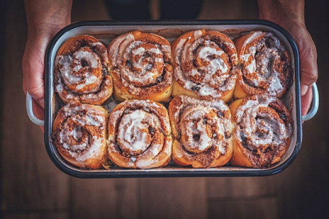 Fresh Homemade Cinnamon Buns