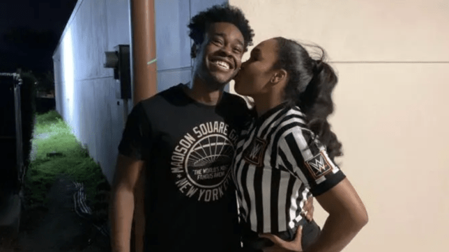 WWE and NXT stars Leon Ruff and Aja Smith are engaged