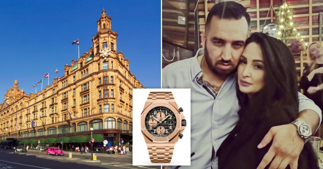 Couple used boy, 6, to help them steal £67,000 watch from Harrods