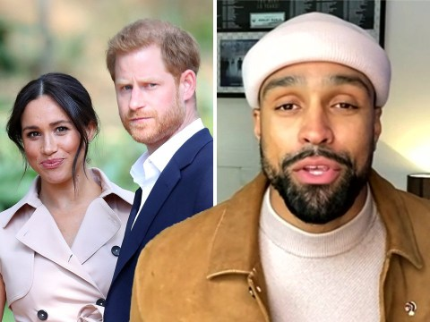 'You can always lean on us': Ashley Banjo reveals touching message from Prince Harry and Meghan Markle after Britain's Got Talent Ofcom row