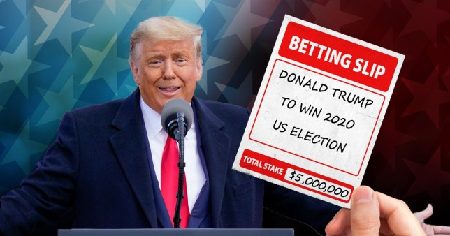 Mystery Brit bets £4,000,000 on Trump winning US election | Metro News