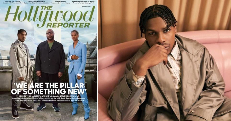 John Boyega in The Hollywood Reporter shoot