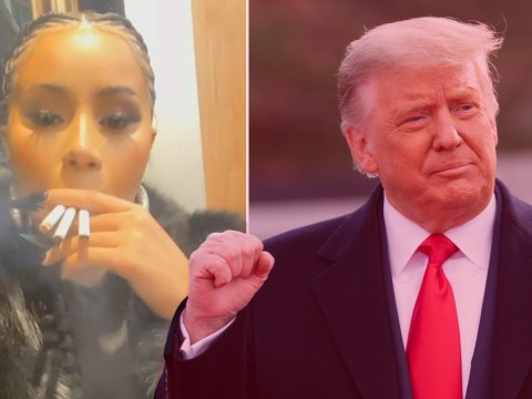 Cardi B sums up US election night by smoking three cigarettes at once