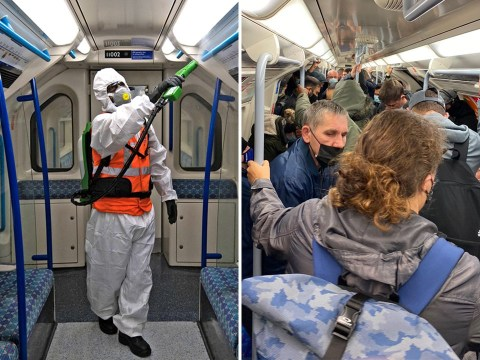 'No evidence' of coronavirus found on Tubes and buses
