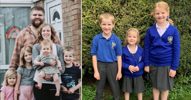 A mum and three of her children died in the crash near Oxford