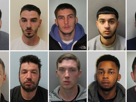 The faces of London's 10 most wanted criminals