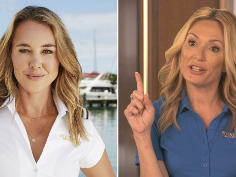 Below Deck's Francesca Rubi on replacing Kate Chastain as chief stewardess