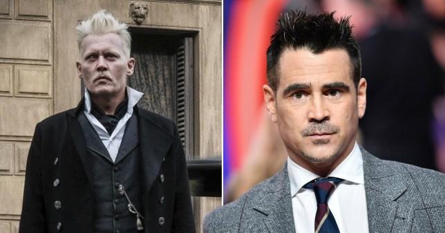 Johnny Depp and Colin Farrell