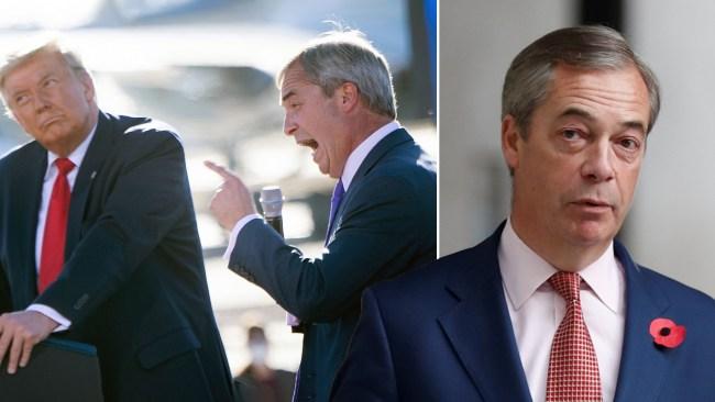 Nigel Farage Latest News On Metro Uk
