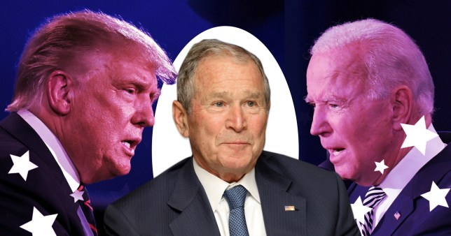 George Bush said Donald Trump is within his right to pursue legal challenges and vote recounts, as he congratulated Biden on winning the election.