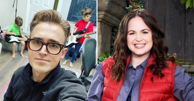 Tom Fletcher assures fans he\'ll be fine with his three children as Giovanna heads into I\'m A Celeb