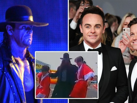 WWE legend The Undertaker attacks Ant and Dec in rare throwback video