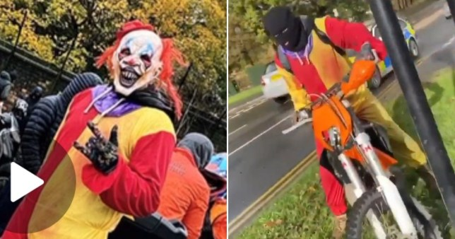 Clown wanted over hit-and-run in South Yorkshire