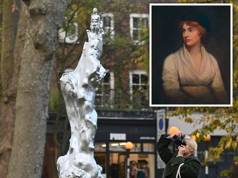 New Mary Wollstonecraft statue slammed as people ask why she's naked