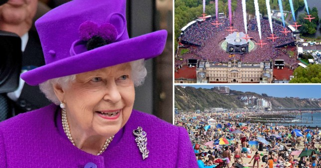 The Queen and the Diamond Jubilee in 2012