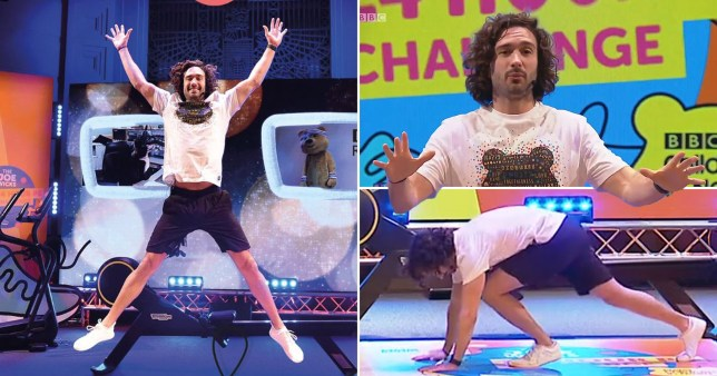 Joe Wicks has kicked off 24 hours of exercise for charity