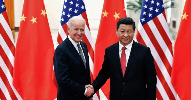 China has congratulated Joe Biden
