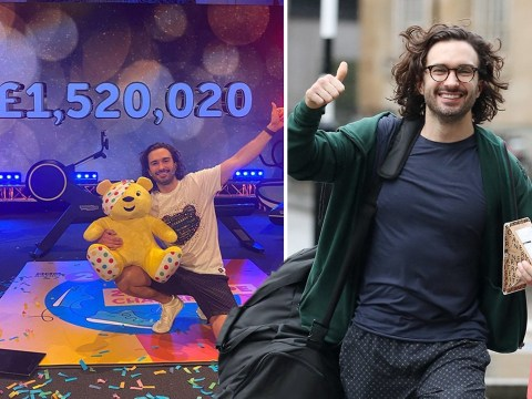 Children In Need: Joe Wicks raises over £2m after 24-hour workout