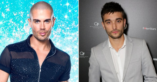 Max George and Tom Parker