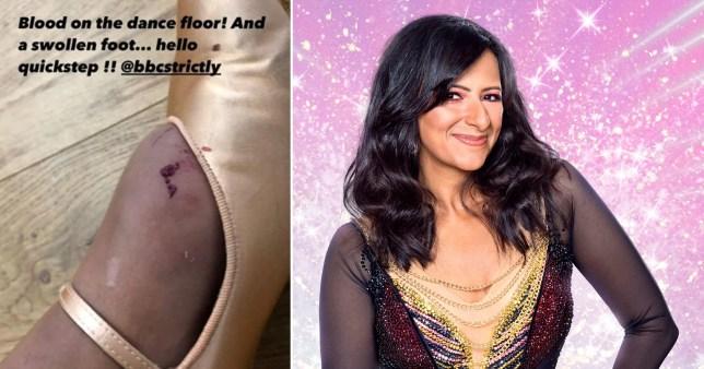 Ranvir Singh bloody feet