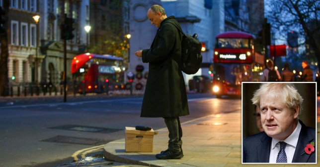 Boris sent Cummings packing after \'toxic\' behaviour