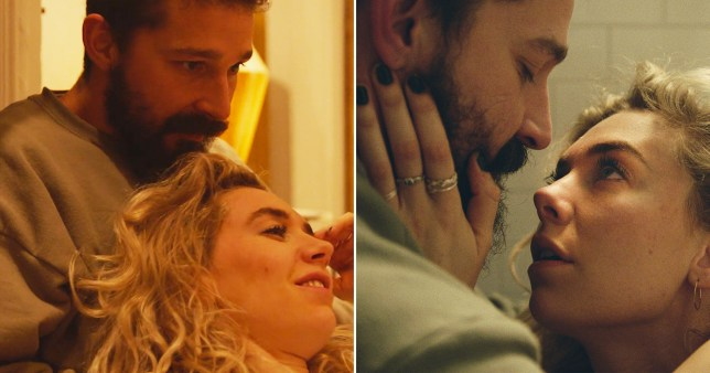 Vanessa Kirby and Shia LaBeouf in Pieces of a Woman movie