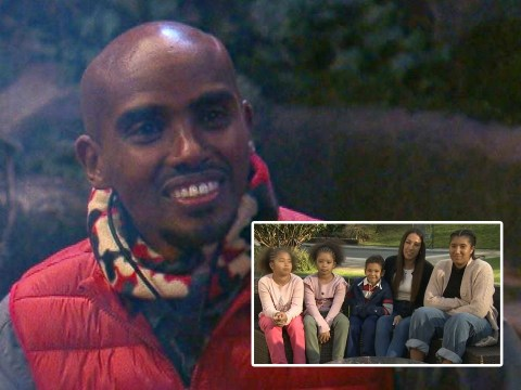 I'm A Celebrity 2020: Sir Mo Farah's wife reveals the Olympian's greatest fear