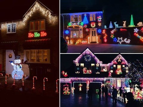 Britons fight lockdown blues by putting up Christmas decorations five weeks early