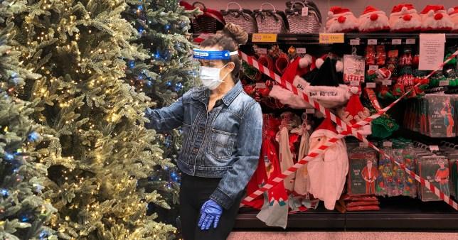 Coronavirus Christmas pictures