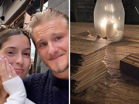 Vikings star Alexander Ludwig engaged to girlfriend Lauren Dear