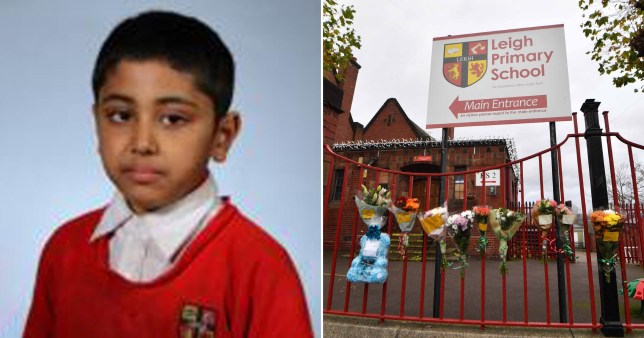 Yasir Hussain, 10, died after hitting his head at Leigh Primary School